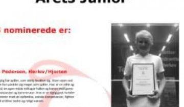 Stem på Årets junior