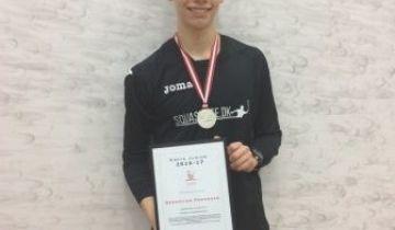Årets Junior - Sebastian Pedersen fra Herlev/Hjorten