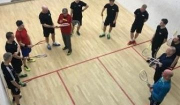 Fint besøg i Odense Squash Club