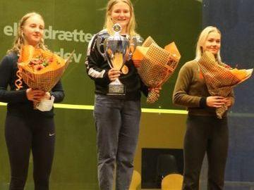 Nye danskmarksmestre i Squash