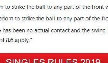 Ændringer i reglerne for squash-spillet